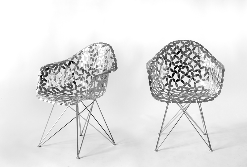 FLOWERS ICON chair (C.&R.E.)